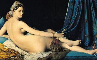 """Jean Auguste Dominique Ingres, """"La Grande Odalisque"""" (1814), Musée du Louvre"""